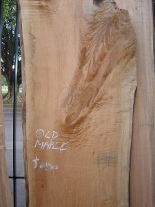 Queensland Maple Slab unfinished
